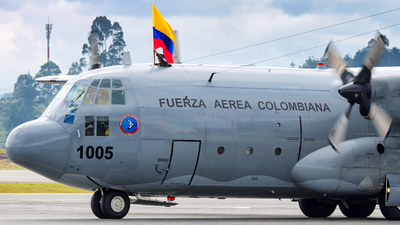 FAC1005 - Lockheed C-130H Hercules - Colombia - Air Force