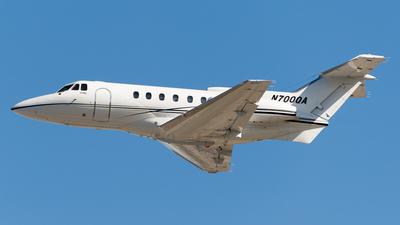N700QA - Hawker Siddeley HS-125-700A - Private