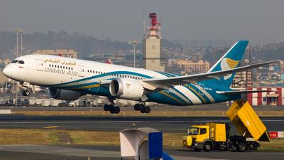 A picture of A4OSB - Boeing 7878 Dreamliner - Oman Air - © Aneesh Bapaye
