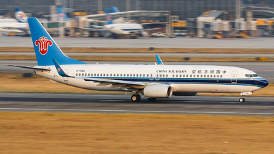 A picture of B1582 - Boeing 73781B - China Southern Airlines - © Lywings