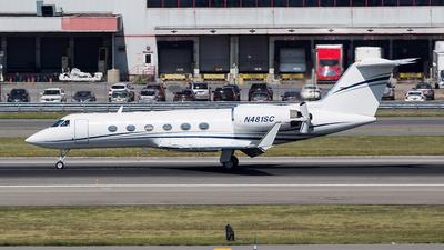 N481SC - Gulfstream G-IV - Private
