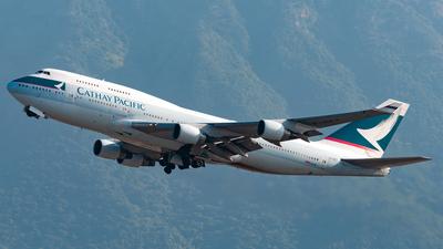 B-HKT - Boeing 747-412 - Cathay Pacific Airways