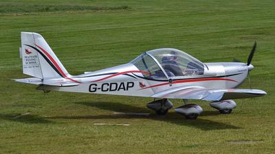 G-CDAP - Evektor-Aerotechnik EV97 Eurostar - Mainair Flying School
