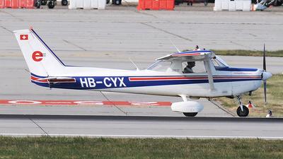 A picture of HBCYX - Cessna 152 - [15283756] - © Claus Seifert