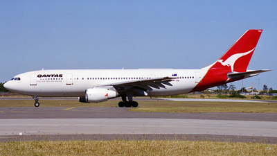 VH-TAD - Airbus A300B4-203 - Qantas