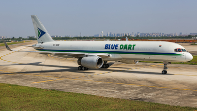 A picture of VTBDB - Boeing 75723N(PCF) - Blue Dart Aviation - © ZHHH-AIR