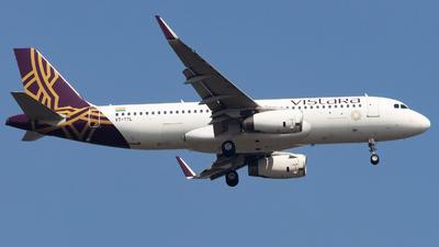 A picture of VTTTL - Airbus A320232 - Vistara - © Janam Parikh
