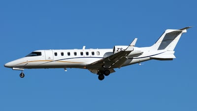 ZS-AJD - Bombardier Learjet 45XR - Private