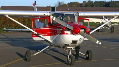 A picture of HBCWA - Cessna FRA150L Aerobat - [0134] - © Mirko Bleuer