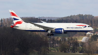 A picture of GZBJK - Boeing 7878 Dreamliner - British Airways - © Tomasz Habaj