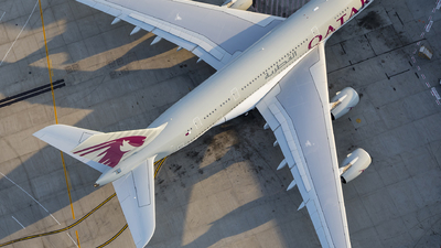 A7-APD - Airbus A380-861 - Qatar Airways