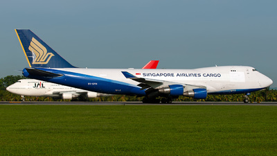 9V-SFH - Boeing 747-412F(SCD) - Singapore Airlines Cargo