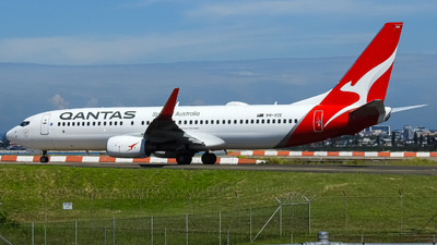 A picture of VHVZE - Boeing 737838 - Qantas - © YSSYplanespotter