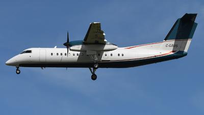 A picture of CGBOS - De Havilland Canada Dash 8300 - Sunwest Aviation - © Frank Buschmann