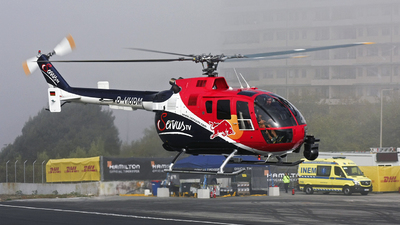 D-HUDM - MBB Bo105CBS-5 - The Flying Bulls