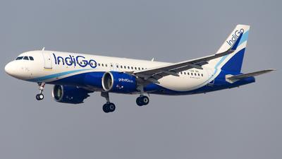 A picture of VTIZR - Airbus A320271N - IndiGo - © Janam Parikh