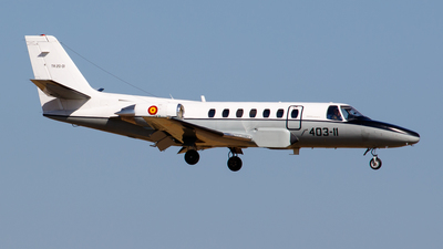 TR.20-01 - Cessna 560 Citation Ultra - Spain - Air Force