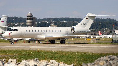 D-ASNK - Bombardier BD-700-1A10 Global 6000 - Private