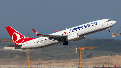TC-JVU - Boeing 737-8F2 - Turkish Airlines