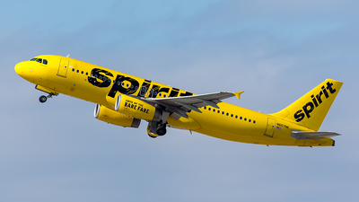 N607NK - Airbus A320-232 - Spirit Airlines
