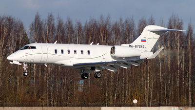 A picture of RA67243 - Bombardier Challenger 350 - [20643] - © Malyshev Andrei