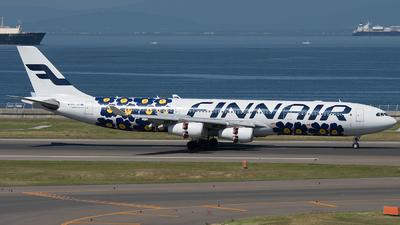OH-LQD - Airbus A340-313E - Finnair
