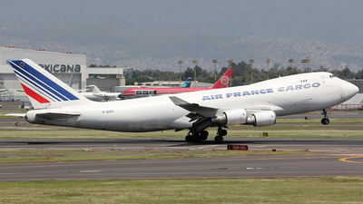 F-GIUC - Boeing 747-428ERF - Air France Cargo