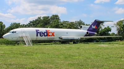 N288FE - Boeing 727-2D4(Adv) - FedEx