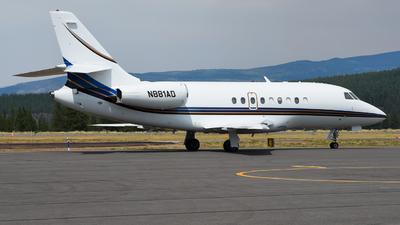 N881AD - Dassault Falcon 2000 - Private