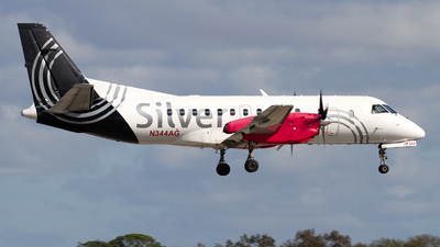 N344AG - Saab 340B+ - Silver Airways