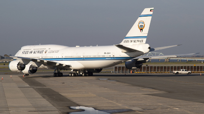 9K-GAA - Boeing 747-8JK(BBJ) - Kuwait - Government
