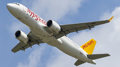 A picture of TCNBD - Airbus A320251N - Pegasus Airlines - © AvA