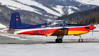A picture of HBHTC - Pilatus PC7 - [520] - © Alberto Cucini