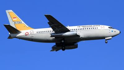AI-7304 - Boeing 737-2Q8(Adv) - Indonesia - Air Force