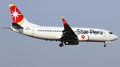 A picture of OB2176P - Boeing 7373H4 - Star Peru - © Cesar Prieto