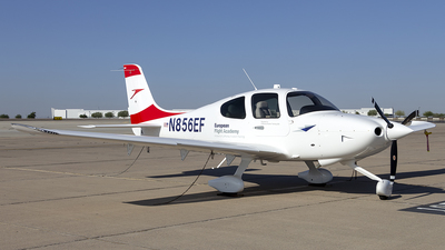 N856EF - Cirrus SR20 - European Flight Academy