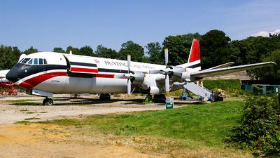 G-APEP - Vickers Vanguard - Hunting Cargo Airlines