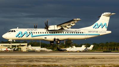 A picture of XAUYT - ATR 72600 - Aeromar - © Kukulkan Avia