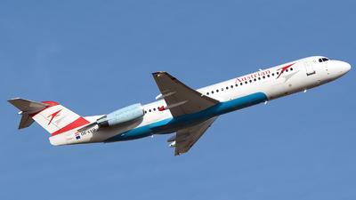 OE-LVO - Fokker 100 - Austrian Airlines