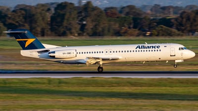 VH-XWQ - Fokker 100 - Alliance Airlines
