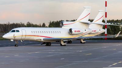 VQ-BSN - Dassault Falcon 7X - Shell Aircraft