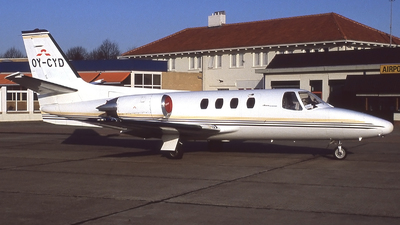 OY-CYD - Cessna 501 Citation SP - Private