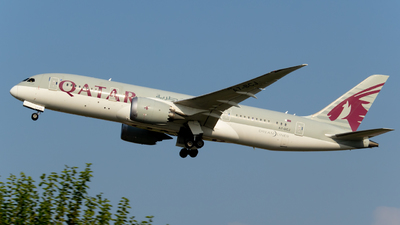 A picture of A7BCJ - Boeing 7878 Dreamliner - Qatar Airways - © Abdullah A. Mughal