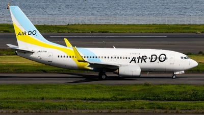 A picture of JA07AN - Boeing 737781 - Air Do - © Nakamuuuuu