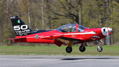 ST-22 - SIAI-Marchetti SF260M+ - Belgium - Air Force