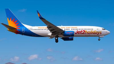G-JZHT - Boeing 737-8MG - Jet2.com