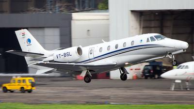 VT-BSL - Cessna 560XL Citation XLS - Bhushan Aviation