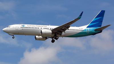 A picture of PKGNE - Boeing 7378U3 - Garuda Indonesia - © Arvin L
