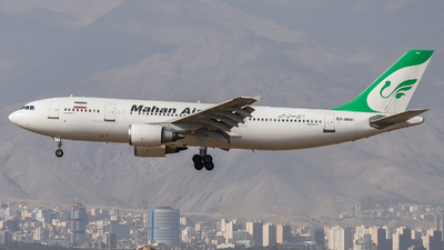 A picture of EPMNH - Airbus A300B4603 - Mahan Air - © Mohamadreza Zeinloo