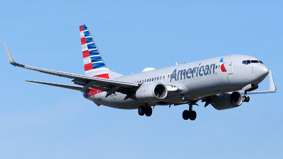 A picture of N820NN - Boeing 737823 - American Airlines - © Alexander Portas